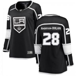 Jaret Anderson-Dolan Los Angeles Kings Women's Fanatics Branded Black Breakaway Home Jersey
