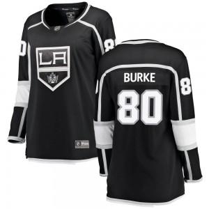 Brayden Burke Los Angeles Kings Women's Fanatics Branded Black Breakaway Home Jersey