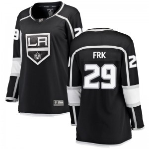 Martin Frk Los Angeles Kings Women's Fanatics Branded Black Breakaway Home Jersey