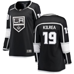 Brian Kilrea Los Angeles Kings Women's Fanatics Branded Black Breakaway Home Jersey
