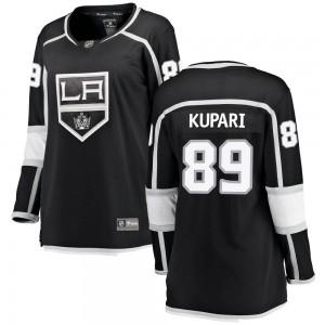 Rasmus Kupari Los Angeles Kings Women's Fanatics Branded Black Breakaway Home Jersey