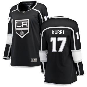 Jari Kurri Los Angeles Kings Women's Fanatics Branded Black Breakaway Home Jersey