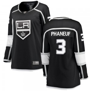 Dion Phaneuf Los Angeles Kings Women's Fanatics Branded Black Breakaway Home Jersey