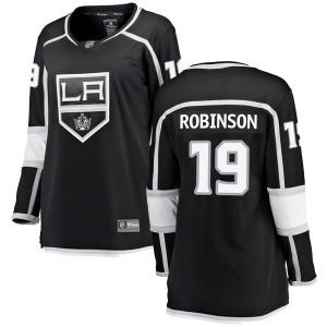 Larry Robinson Los Angeles Kings Women's Fanatics Branded Black Breakaway Home Jersey
