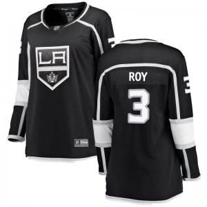 Matt Roy Los Angeles Kings Women's Fanatics Branded Black Breakaway Home Jersey