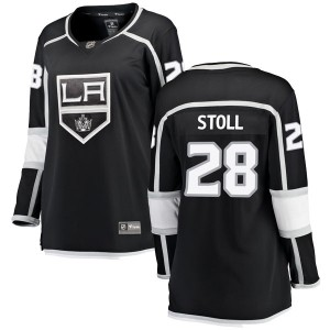 Jarret Stoll Los Angeles Kings Women's Fanatics Branded Black Breakaway Home Jersey