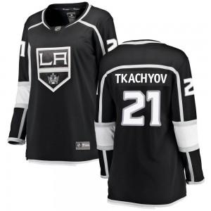 Vladimir Tkachyov Los Angeles Kings Women's Fanatics Branded Black Breakaway Home Jersey