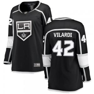 Gabriel Vilardi Los Angeles Kings Women's Fanatics Branded Black ized Breakaway Home Jersey