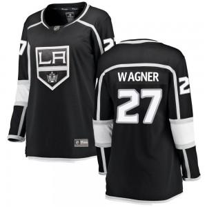 Austin Wagner Los Angeles Kings Women's Fanatics Branded Black Breakaway Home Jersey
