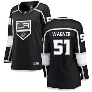 Austin Wagner Los Angeles Kings Women's Fanatics Branded Black Breakaway Home Jersey