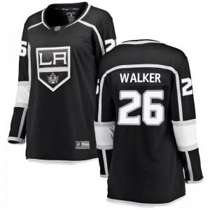 Sean Walker Los Angeles Kings Women's Fanatics Branded Black Breakaway Home Jersey