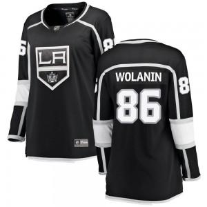 Christian Wolanin Los Angeles Kings Women's Fanatics Branded Black Breakaway Home Jersey