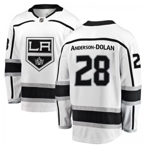 Jaret Anderson-Dolan Los Angeles Kings Men's Fanatics Branded White Breakaway Away Jersey