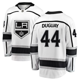 Ron Duguay Los Angeles Kings Men's Fanatics Branded White Breakaway Away Jersey