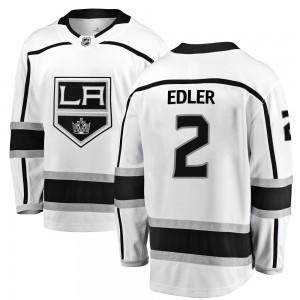 Alexander Edler Los Angeles Kings Men's Fanatics Branded White Breakaway Away Jersey