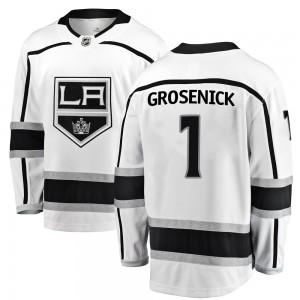 Troy Grosenick Los Angeles Kings Men's Fanatics Branded White Breakaway Away Jersey