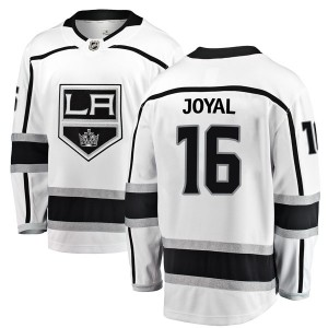 Eddie Joyal Los Angeles Kings Men's Fanatics Branded White Breakaway Away Jersey