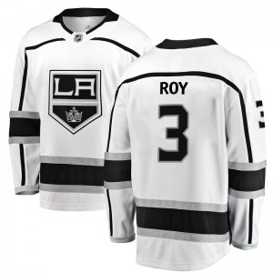 Matt Roy Los Angeles Kings Men's Fanatics Branded White Breakaway Away Jersey