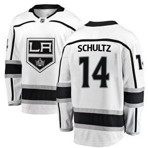 Dave Schultz Los Angeles Kings Men's Fanatics Branded White Breakaway Away Jersey
