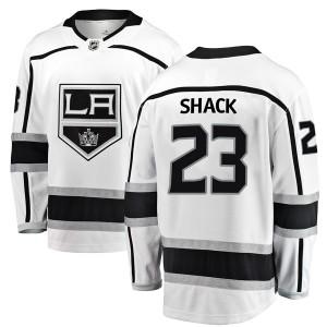Eddie Shack Los Angeles Kings Men's Fanatics Branded White Breakaway Away Jersey