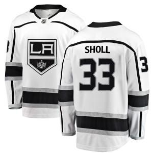 Tomas Sholl Los Angeles Kings Men's Fanatics Branded White Breakaway Away Jersey