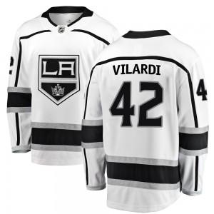 Gabriel Vilardi Los Angeles Kings Men's Fanatics Branded White ized Breakaway Away Jersey