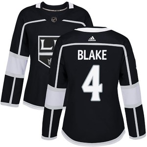 Rob Blake Los Angeles Kings Women's Adidas Authentic Black Home Jersey