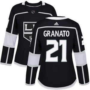 Tony Granato Los Angeles Kings Women's Adidas Authentic Black Home Jersey