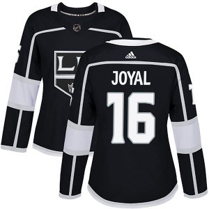 Eddie Joyal Los Angeles Kings Women's Adidas Authentic Black Home Jersey