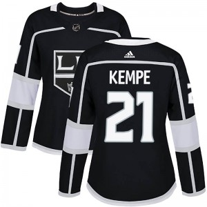 Mario Kempe Los Angeles Kings Women's Adidas Authentic Black Home Jersey