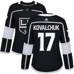 Ilya Kovalchuk Los Angeles Kings Women's Adidas Authentic Black Home Jersey