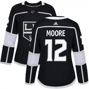 Trevor Moore Los Angeles Kings Women's Adidas Authentic Black Home Jersey