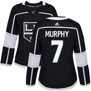 Mike Murphy Los Angeles Kings Women's Adidas Authentic Black Home Jersey
