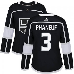 Dion Phaneuf Los Angeles Kings Women's Adidas Authentic Black Home Jersey