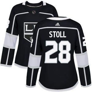 Jarret Stoll Los Angeles Kings Women's Adidas Authentic Black Home Jersey