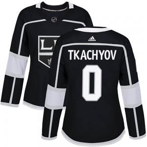 Vladimir Tkachyov Los Angeles Kings Women's Adidas Authentic Black Home Jersey