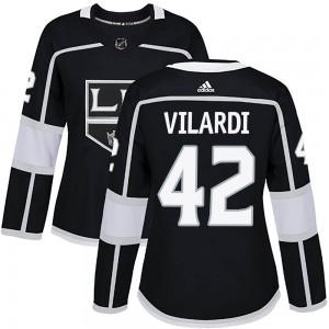 Gabriel Vilardi Los Angeles Kings Women's Adidas Authentic Black ized Home Jersey