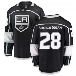 Jaret Anderson-Dolan Los Angeles Kings Youth Fanatics Branded Black Breakaway Home Jersey