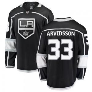 Viktor Arvidsson Los Angeles Kings Youth Fanatics Branded Black Breakaway Home Jersey