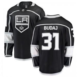Peter Budaj Los Angeles Kings Youth Fanatics Branded Black Breakaway Home Jersey