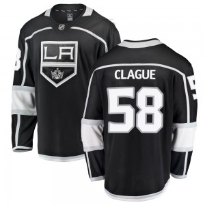 Kale Clague Los Angeles Kings Youth Fanatics Branded Black Breakaway Home Jersey