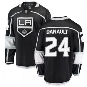 Phillip Danault Los Angeles Kings Youth Fanatics Branded Black Breakaway Home Jersey