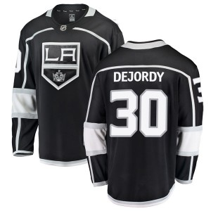 Denis Dejordy Los Angeles Kings Youth Fanatics Branded Black Breakaway Home Jersey