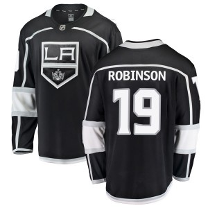 Larry Robinson Los Angeles Kings Youth Fanatics Branded Black Breakaway Home Jersey