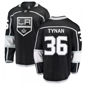 T.J. Tynan Los Angeles Kings Youth Fanatics Branded Black Breakaway Home Jersey