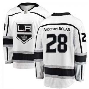 Jaret Anderson-Dolan Los Angeles Kings Youth Fanatics Branded White Breakaway Away Jersey