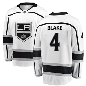 Rob Blake Los Angeles Kings Youth Fanatics Branded White Breakaway Away Jersey