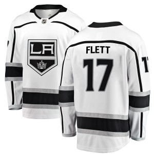Bill Flett Los Angeles Kings Youth Fanatics Branded White Breakaway Away Jersey