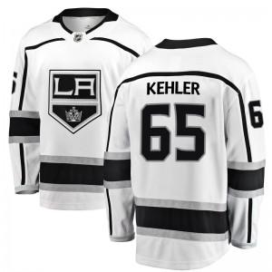 Cole Kehler Los Angeles Kings Youth Fanatics Branded White Breakaway Away Jersey