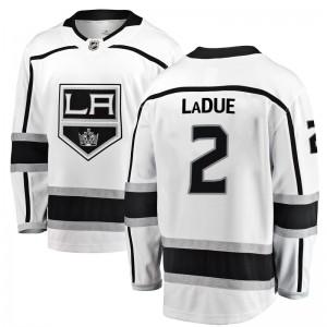 Paul LaDue Los Angeles Kings Youth Fanatics Branded White Breakaway Away Jersey